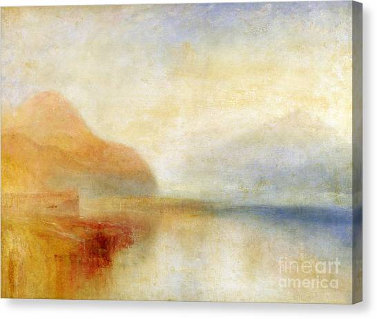 Seascape Canvas Print -  Inverary Pier - Loch Fyne - Morning by Joseph Mallord William Turner