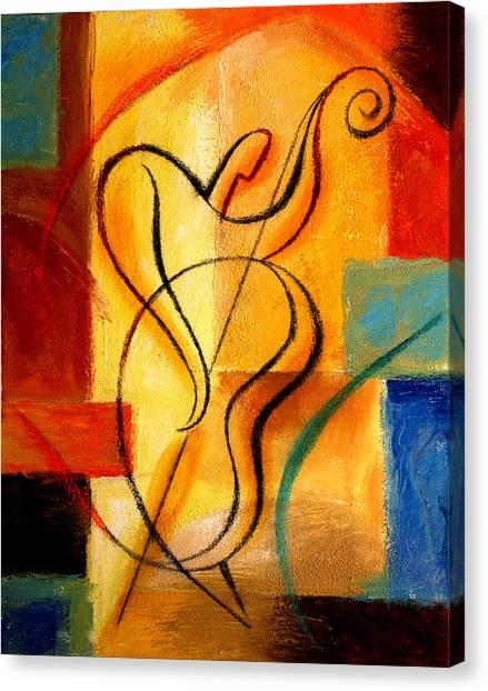 Jazz Fusion Canvas Print