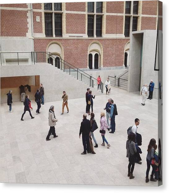 Rijksmuseum Canvas Print - | Keep On Moving |  At The by Gareth Mate