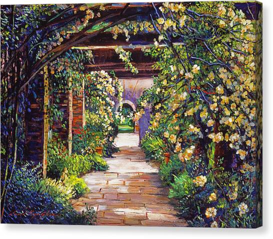 Arbor Canvas Print -  Memory Lane by David Lloyd Glover