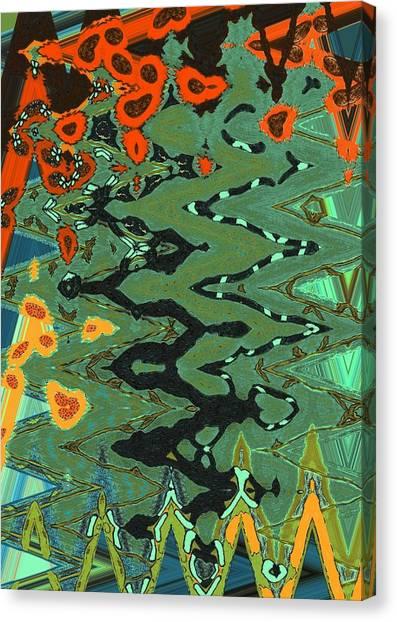 Mprints - Patchwork Garden Canvas Print