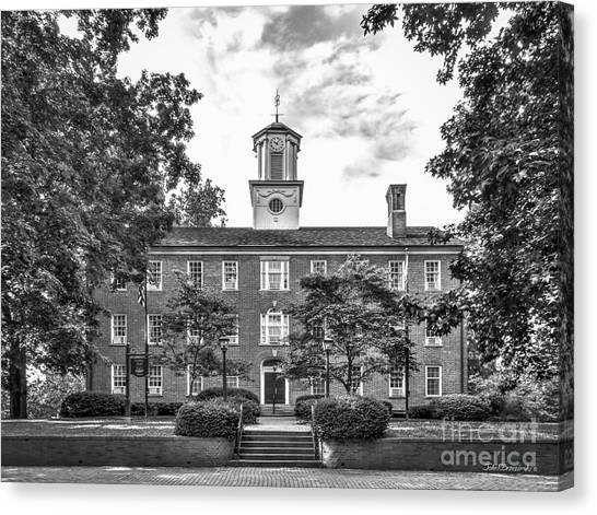 Ohio University Canvas Print -  Ohio University Cutler Hall by University Icons