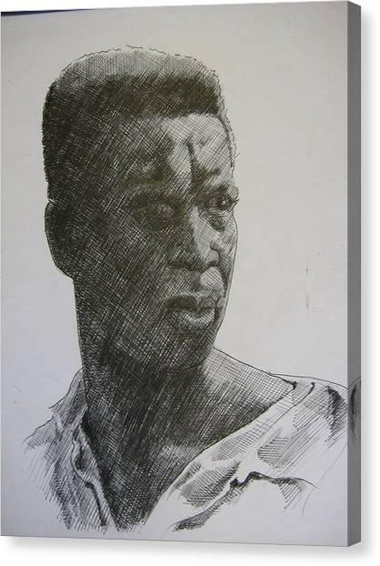 Photograph Of K. C. Canvas Print by Dalushaka Mugwana