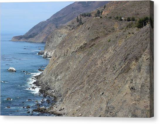 Ragged Point View Canvas Print