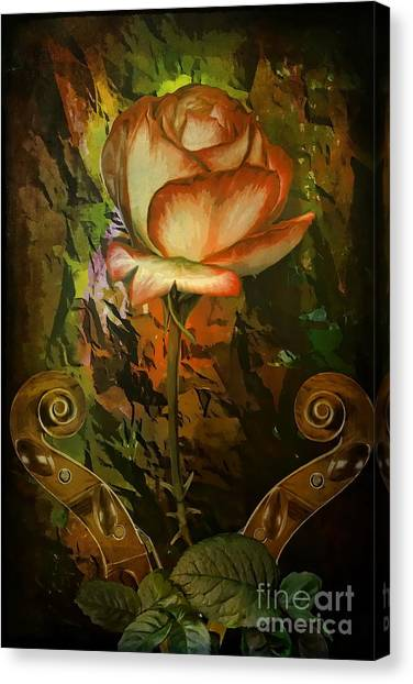 Rose An Inspiration Canvas Print