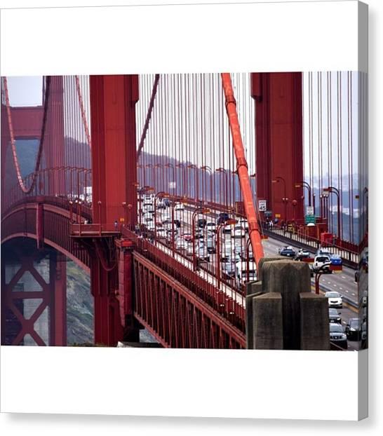 Scotty Canvas Print - - San Fran Golden Gate Bridge 👌 by Scotty Brown