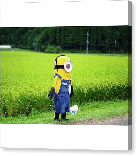 Scarecrows Canvas Print - かかし Scarecrow💃 #scarecrow by Jumpei Matsumoto