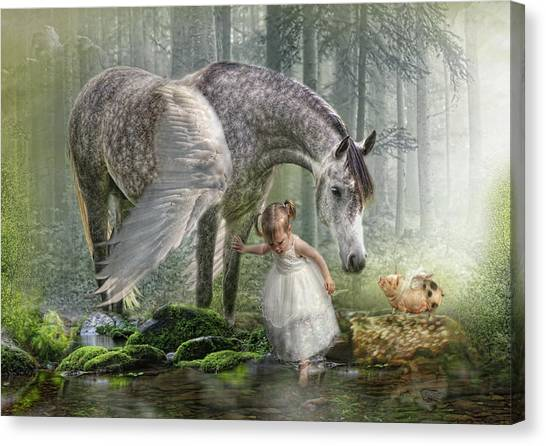 Special Friends Canvas Print