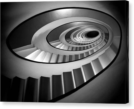 Stairs Canvas Print - @ by Stefano Rapino