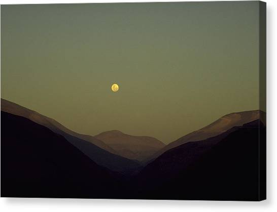 The Andes Mood Canvas Print
