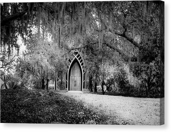 University Of Florida Canvas Print -  The Baughman Center by Louis Ferreira
