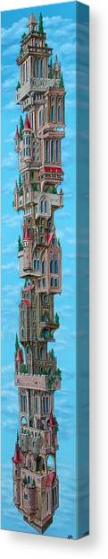 The Castle Of Air Canvas Print