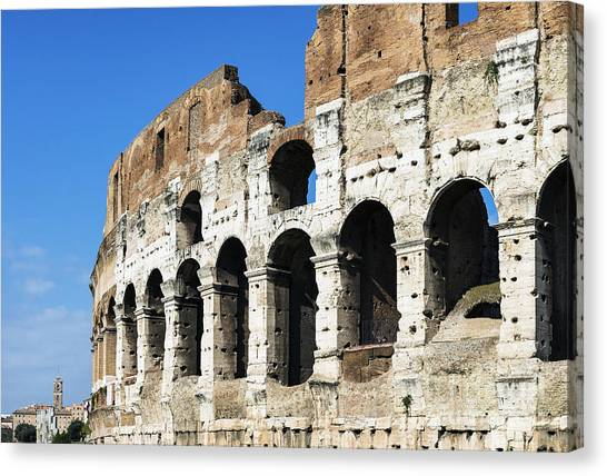 The Colosseum Canvas Print -  The Colosseum by John Greim