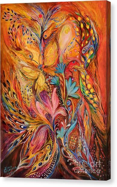 The Flowering Canvas Print by Elena Kotliarker