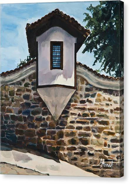 The Small Window Canvas Print