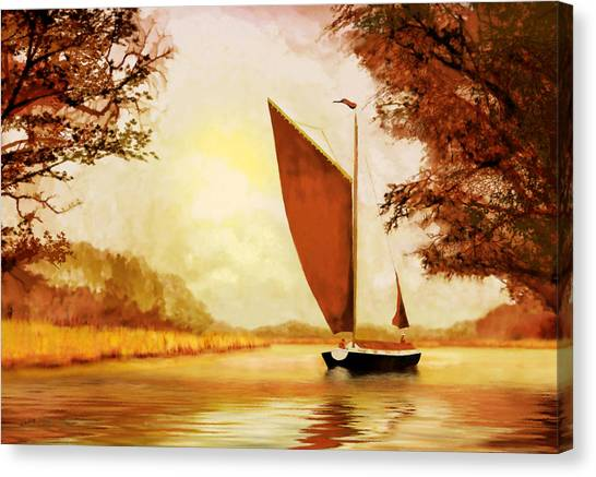The Wherry Albion Canvas Print