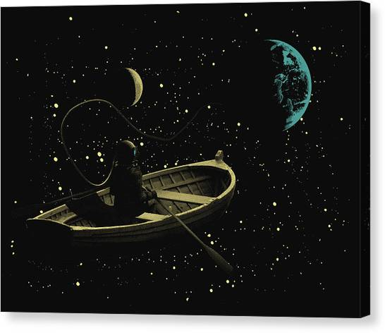 Trip To Silence Canvas Print