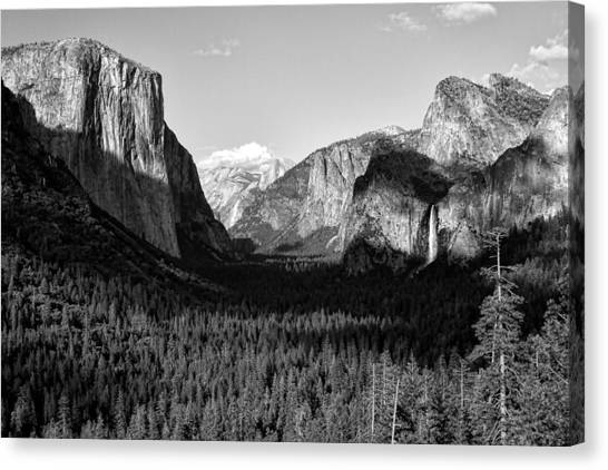 Valley Of Inspiration Canvas Print