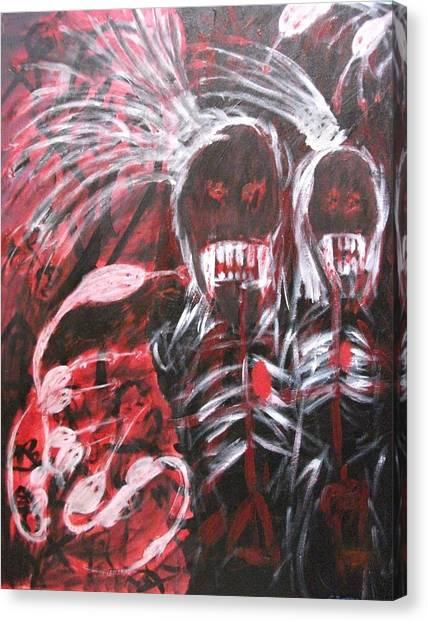 Vengence Canvas Print by Randall Ciotti