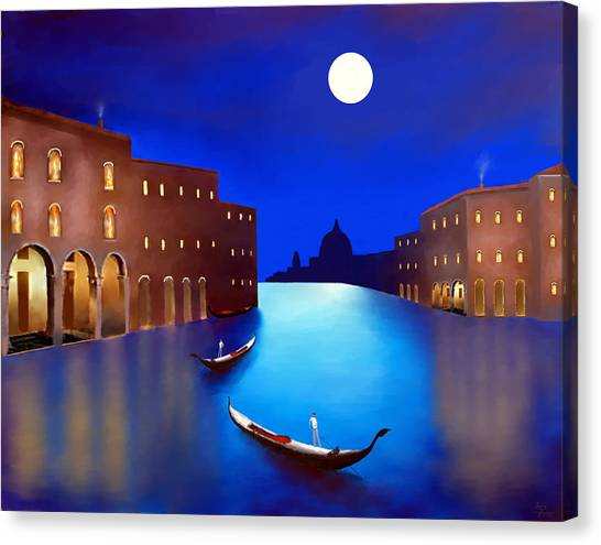 Venice Nights Canvas Print