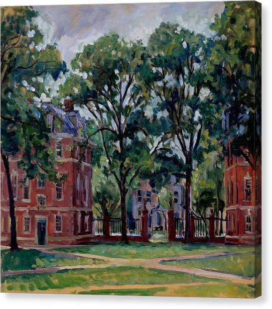Williams College Quad Canvas Print