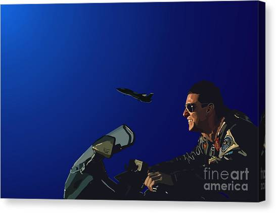 Tamify Canvas Print - 002. The Danger Zone by Tam Hazlewood