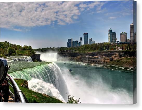 004 Niagara Falls  Canvas Print