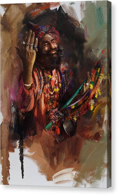 Submission Canvas Print - 004 Sindh by Mahnoor Shah