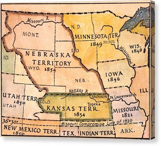 Kansas Nebraska Act Canvas Prints | Fine Art America