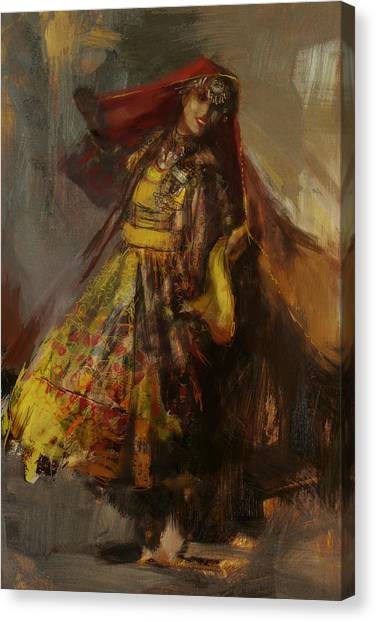 Submission Canvas Print - 008 Pakhtun B by Mahnoor Shah