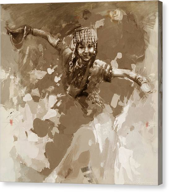Submission Canvas Print - 007 Kazakhstan Culture by Mahnoor Shah
