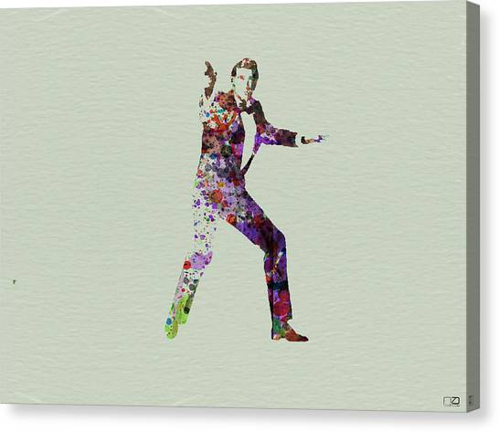 Roger Canvas Print - 007 Watercolor by Naxart Studio