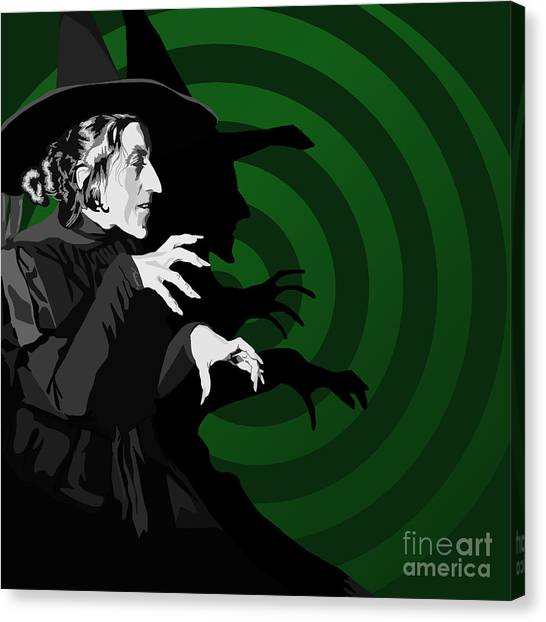 Fantasy Canvas Print - 009. Destroy My Beautiful Wickedness by Tam Hazlewood