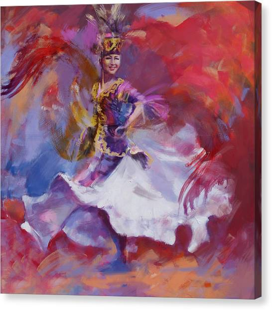 Submission Canvas Print - 014 Kazakhstan Culture by Maryam Mughal