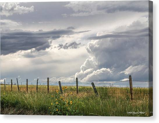 #0149 - Axtel Anceney, Southwest Montana Canvas Print