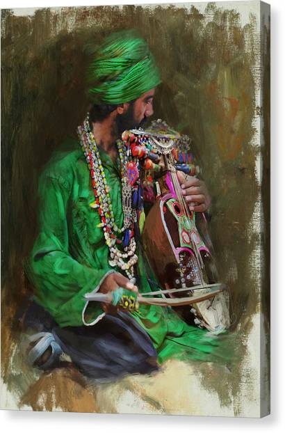 Submission Canvas Print - 023 Sindh by Mahnoor Shah