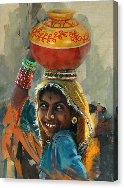 Submission Canvas Print - 028 Sindh by Mahnoor Shah