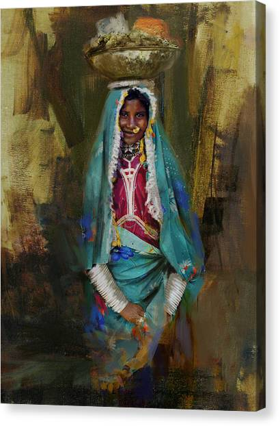Submission Canvas Print - 030 Sindh by Maryam Mughal