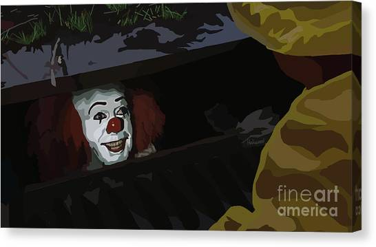 Tamify Canvas Print - 036. They All Float Down Here by Tam Hazlewood