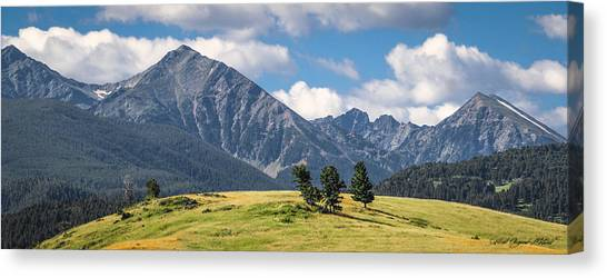 #0491 - Spanish Peaks, Southwest Montana Canvas Print
