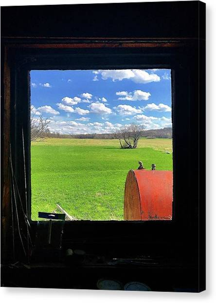 Farmhouse Canvas Print - 05-2018 - - - -▪️photo Takin by Mel Porter