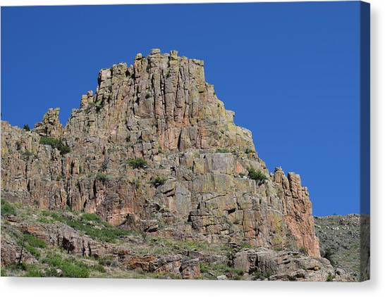 Mountain Scenery Hwy 14 Co Canvas Print