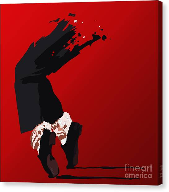 Michael Jackson Canvas Print - 063. Forever by Tam Hazlewood