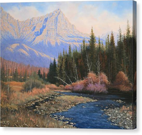 091022-2024  Into The Back Country Canvas Print by Kenneth Shanika