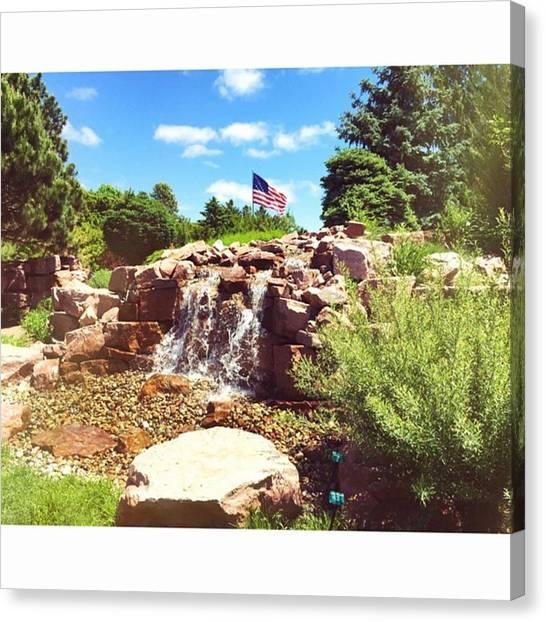 South Dakota Canvas Print - God Bless America by Britni Hemmer