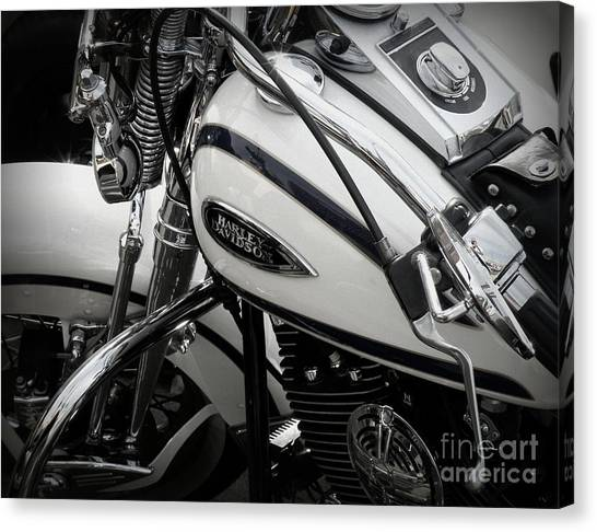 1 - Harley Davidson Series  Canvas Print