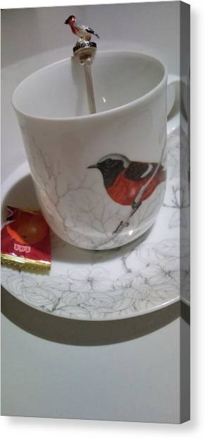 Kotori Means Bird Canvas Print