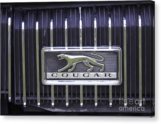 1968 Cougar Canvas Print
