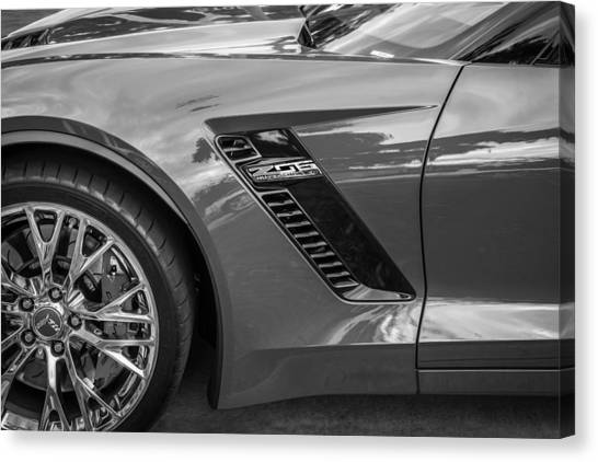 2015 Chevrolet Corvette Z06 Painted  Canvas Print