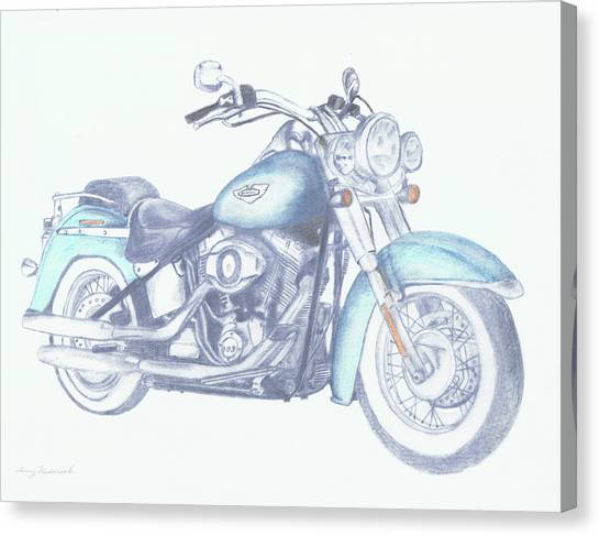 2015 Softail Canvas Print
